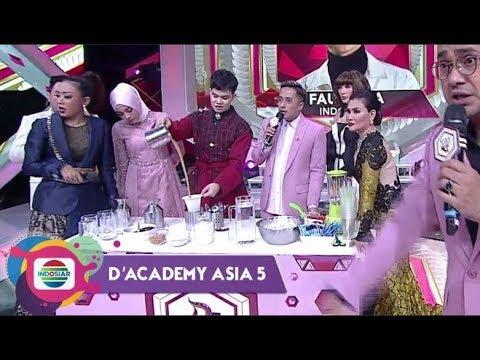 Gokil Abiss! Teh Tarik Yuliadi Ala Dj Bikin Deg-degan - D'Academy Asia 5