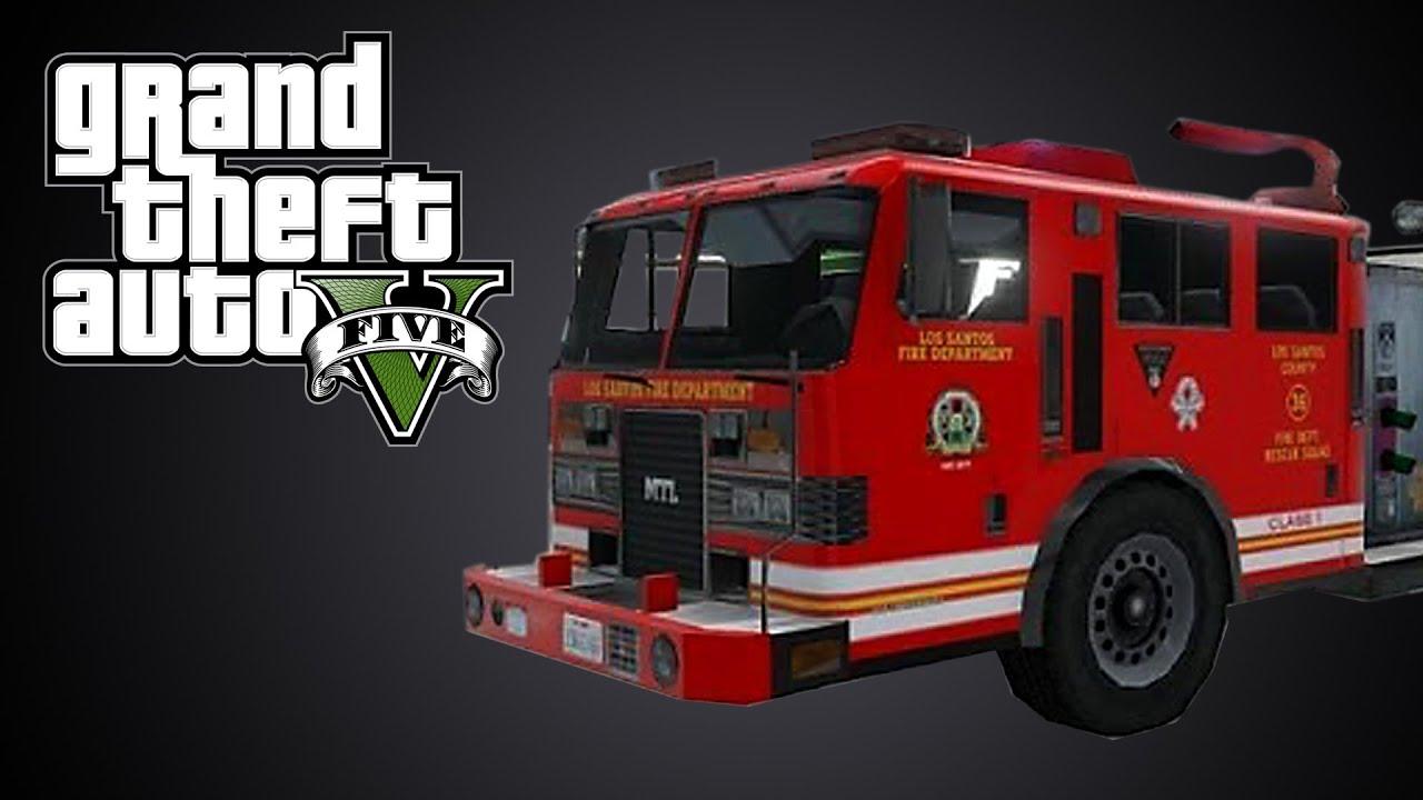 Très GTA 5] ep.72 Où trouver un camion de pompier - YouTube ZQ48