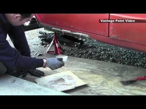 Classic Car Restoration Kadett D Outer Sill Repair
