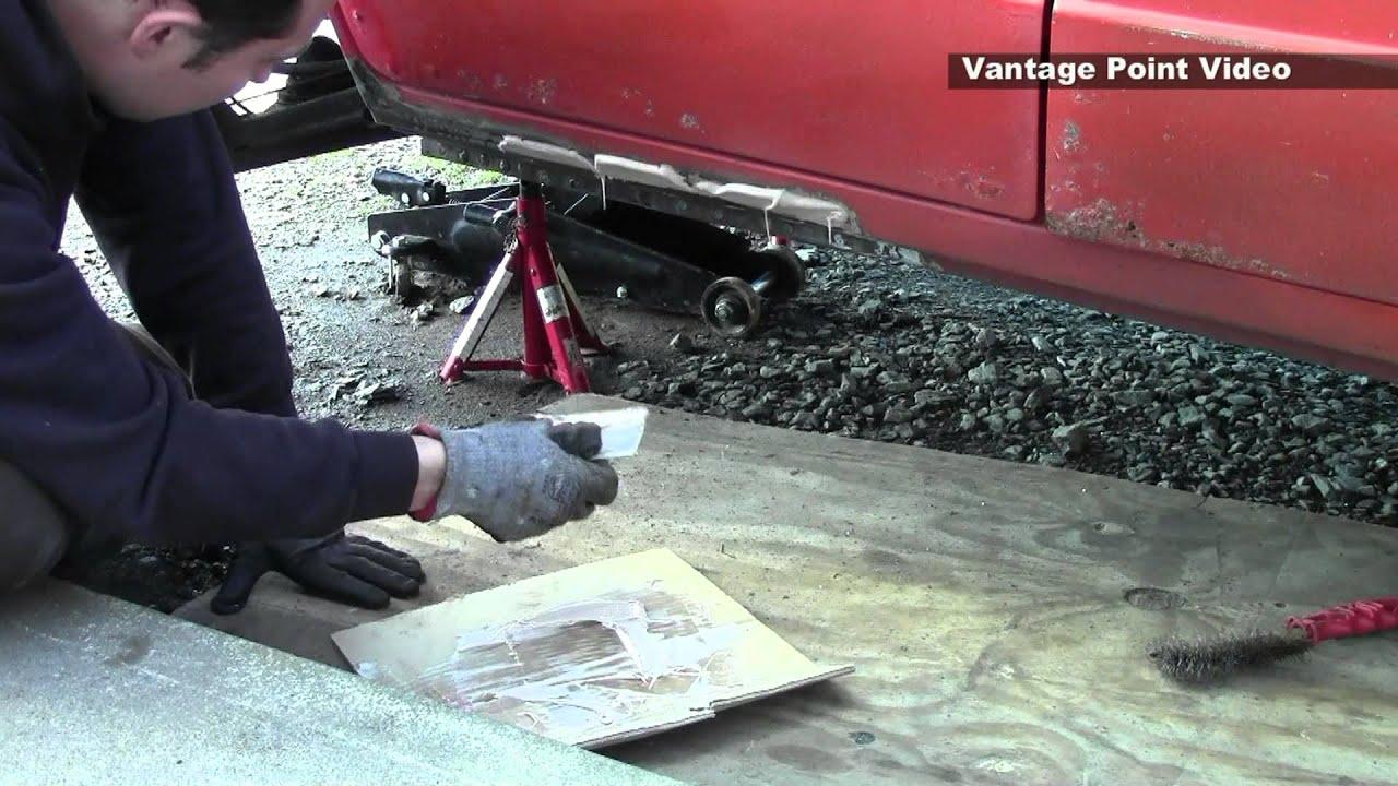 Classic Car Restoration Kadett D Outer Sill Rocker Panel