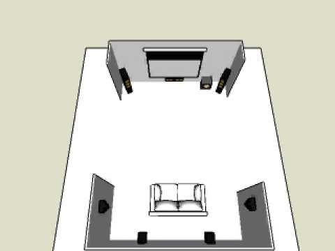 installation home cinema 7 1 youtube. Black Bedroom Furniture Sets. Home Design Ideas