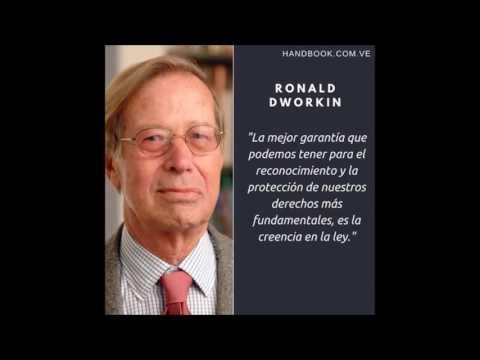 Ronald Dworkin y su filosofia