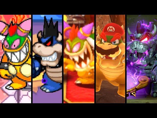 Evolution of Cursed Bowser Battles (2001-2018)