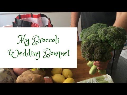MY BROCCOLI WEDDING BOUQUET + VEGAN MEAL PREP | PAUL FISHMAN DAILY