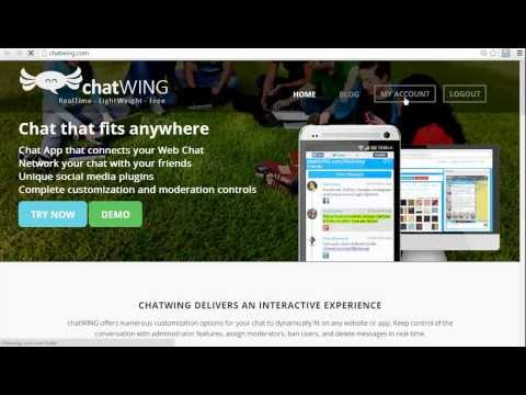 Android App Chatwing.com 123 Flash Chat Rooms Chatwing
