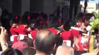 イギリス近衛連隊パレード
