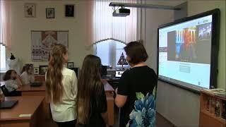 Иван Кокорин на уроке технологии в ГБОУ Школа № 185 г. Москвы
