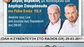 Radio9.gr ΕΥΑ ΚΑΙΛΗ 12-04-11