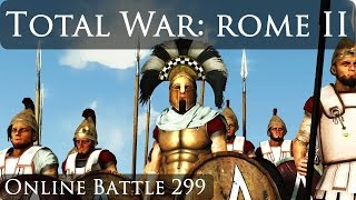 Total War Rome 2 Online Battle Video 299
