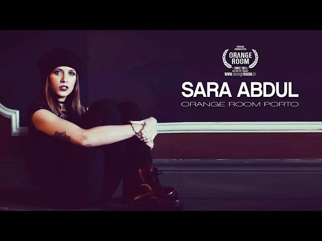 SARA ABDUL x ORANGE ROOM PORTO