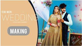Making of Teri Meri Wedding Song    Apna Up Culture