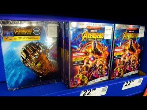 walmart avengers infinity war dvd