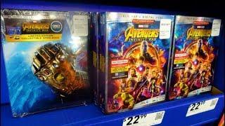 Blu-Ray Hunting - AVENGERS: INFINITY WAR Exclusives - Walmart - Target - Best Buy