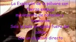 La Bala/ Calle 13 con letra