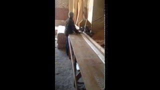 Производство вагонки из дерева(На данном видео показано изготовление вагонки на производстве компании