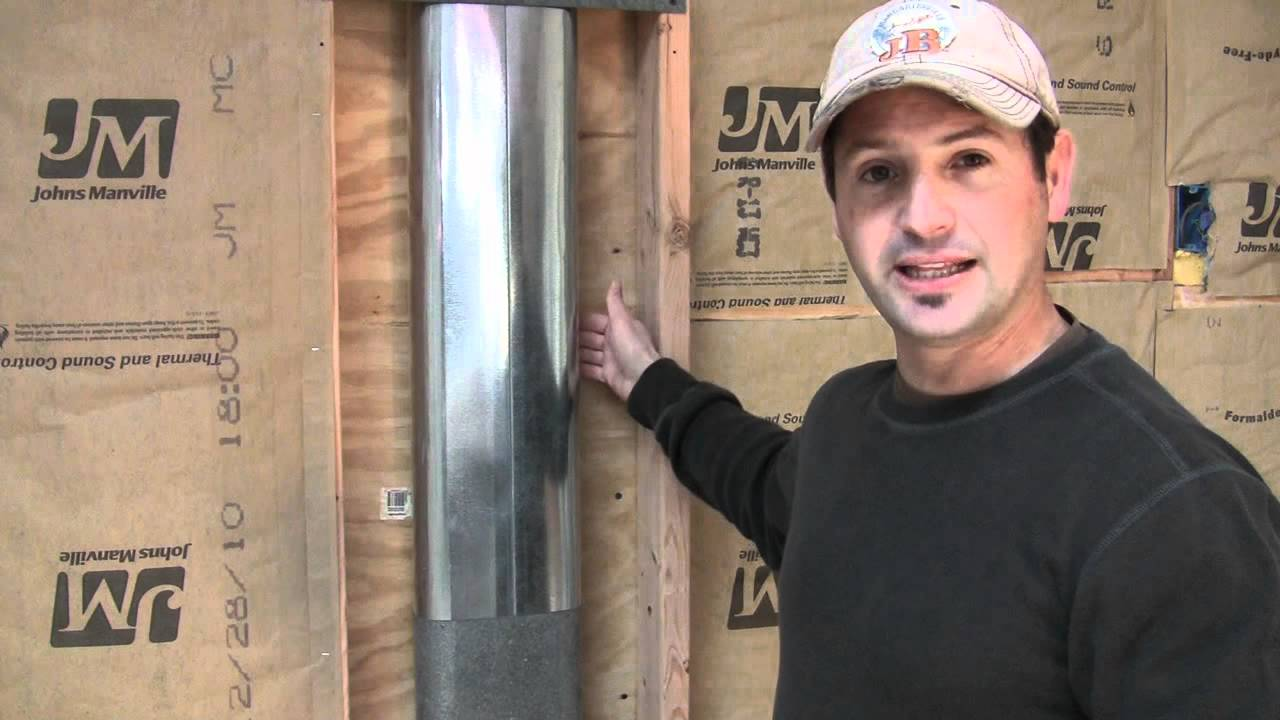 How To Insulate Behind Ductwork With Reflectix Foil Insulation