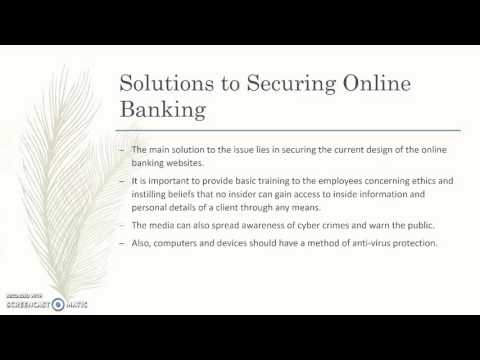Privacy in Online Banking