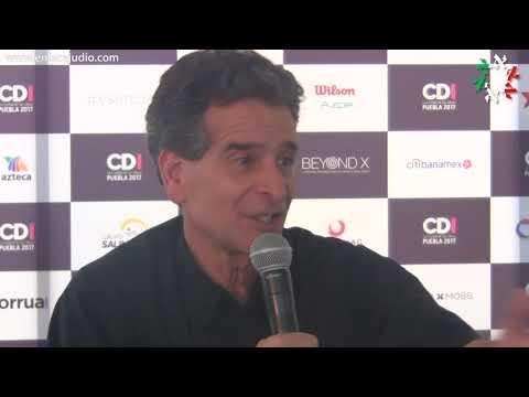 CDI Puebla 2017 - Rueda de prensa de Dean Kamen, inventor y promotor de la ciencia
