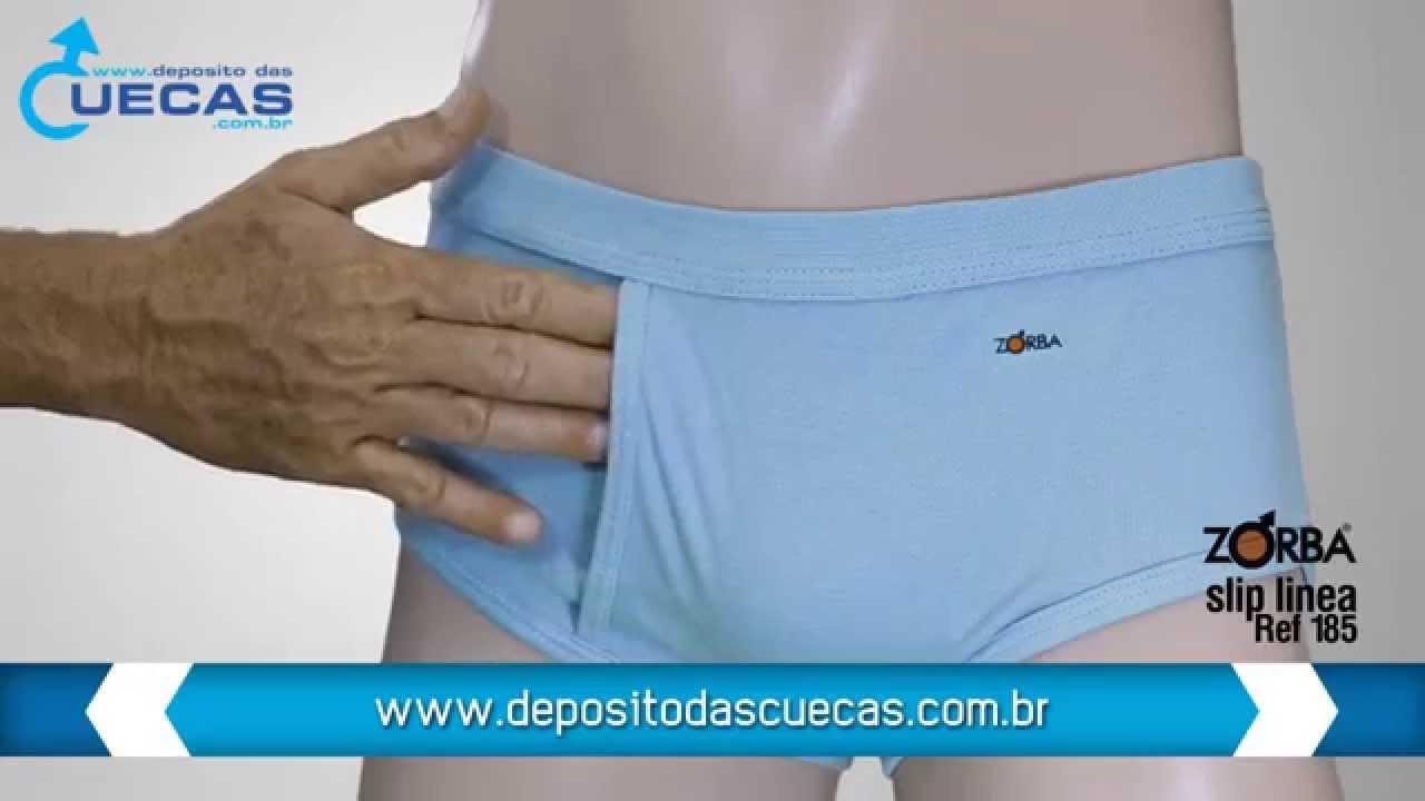 4b9a534a0 Cueca Zorba Slip Linea Referência 185 - YouTube