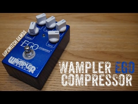 WAMPLER EGO COMPRESSOR (Demo) - Compressors are more important than you think