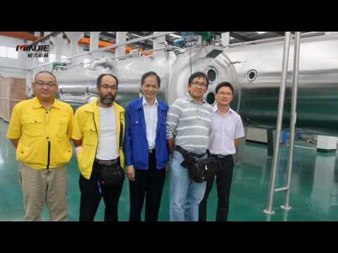 Shanghai Minjie Continuous Vacuum Belt Dryer & Super Low Temperature Evaporator & Sterilizer