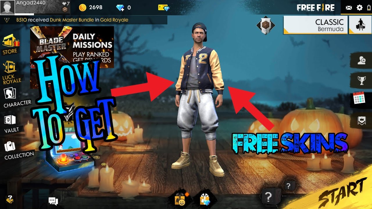 How To Get Free Skins In Free Fire