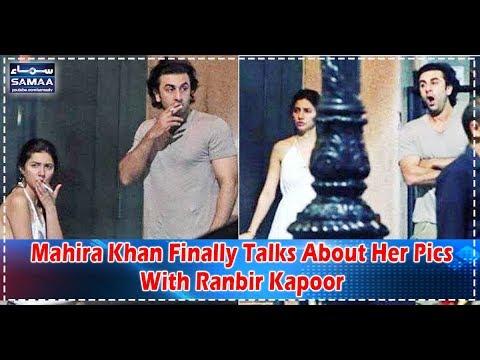Mahira Khan Finally Talks About Her Pics With Ranbir Kapoor | SAMAA TV EXCLUSIVE