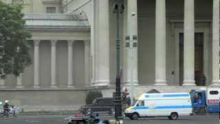 Сьемки фильма Крепкий Орешек. Будапешт. (2012) Filming Die Hard. Budapest.