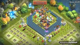 Castle Clash : Wave AA5 Victory