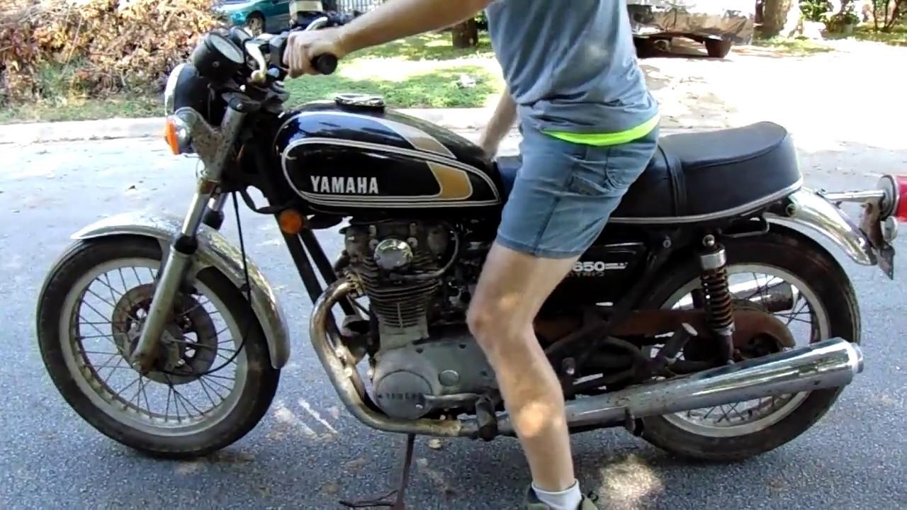 1977 yamaha xs650 straight road test [ 1280 x 720 Pixel ]