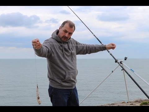Bait-up And Rigging Up For Rock Fishing - Steve Harder