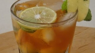 Lemon Mint | Iced Tea | Sanjeev Kapoor Khazana