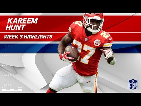 Kareem Hunt Continues His Rookie of the Year Run! 🏆 | Chiefs vs. Chargers | Wk 3 Player Highlights