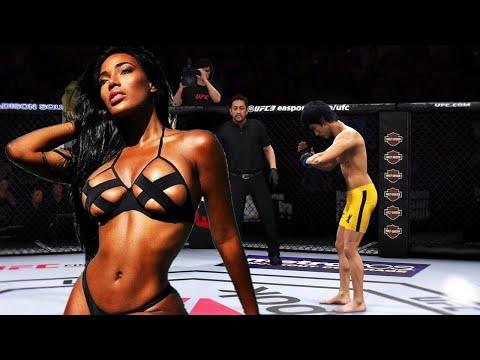 UFC4 | Bruce Lee vs Babes Huns (EA Sports UFC 4) wwe mma
