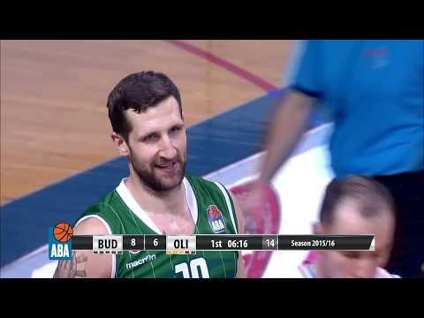 ABA Liga 2015/16, Round 20 match: Budućnost VOLI - Union Olimpija (16.1.2016)