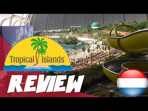 Grootste indoor zwemparadijs ter wereld review: Tropical Island, Berlijn Duitsland