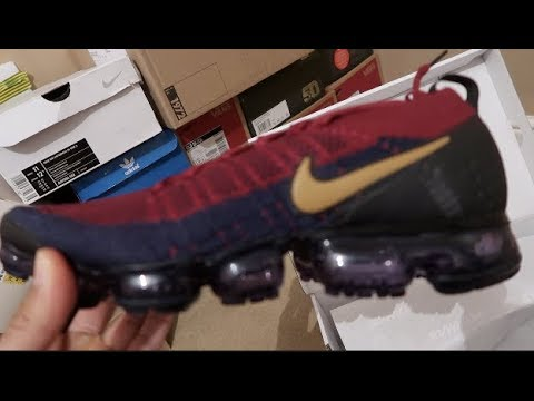 new style cd05f fbd53 Nike Air VAPORMAX FLYKNIT 2 BLUE RED (REVIEW, UNBOXING)