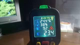 iNFRARED THERMOMETR PM6530D ПИРОМЕТР  Лазерный