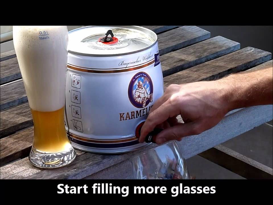 Party Beer Keg How To Open A Beer Keg And Pour A Perfect Beer Youtube