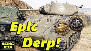 """Sherman """"Jumbo"""": Let the Derp Begin! - World of Tanks"""