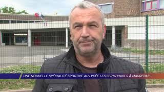 Yvelines | Une nouvelle spécialité sportive au lycée les Sept mares de Maurepas