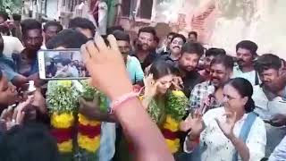 Double Blockbusters Celebrations at Sandaikozhi 2 shoot