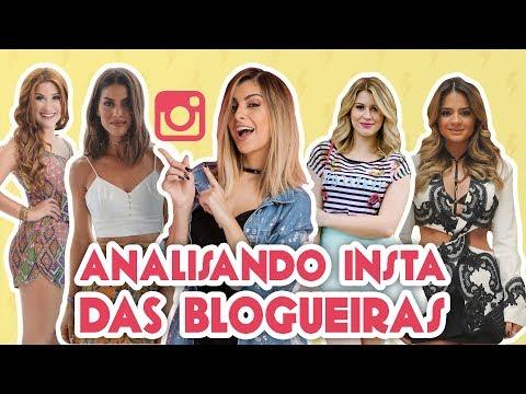 ANALISANDO O FEED DAS BLOGUEIRAS ft FOQUINHA   Maicon Santini