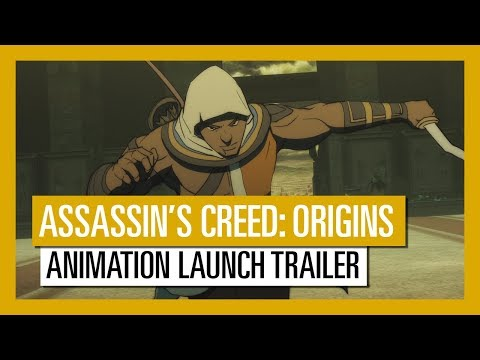 Assassin's Creed: Origins - Animation Launch Trailer