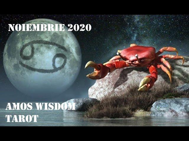 Tarot Horoscop - Rac - Noiembrie 2020