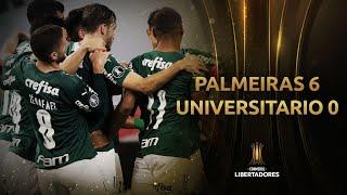 Palmeiras vs. Universitario [6-0]   RESUMEN   Fecha 6   CONMEBOL Libertadores 2021
