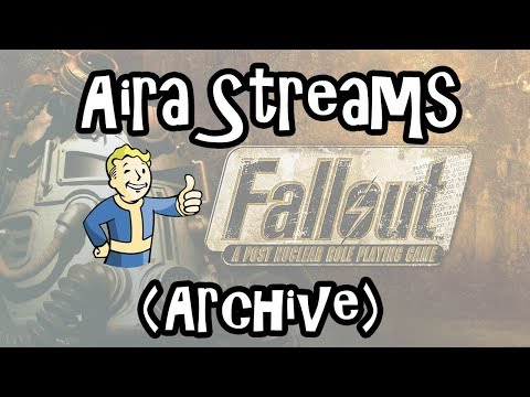 Fallout 1 - Part 5: Getting an Energy Weapon! (Stream Archive)