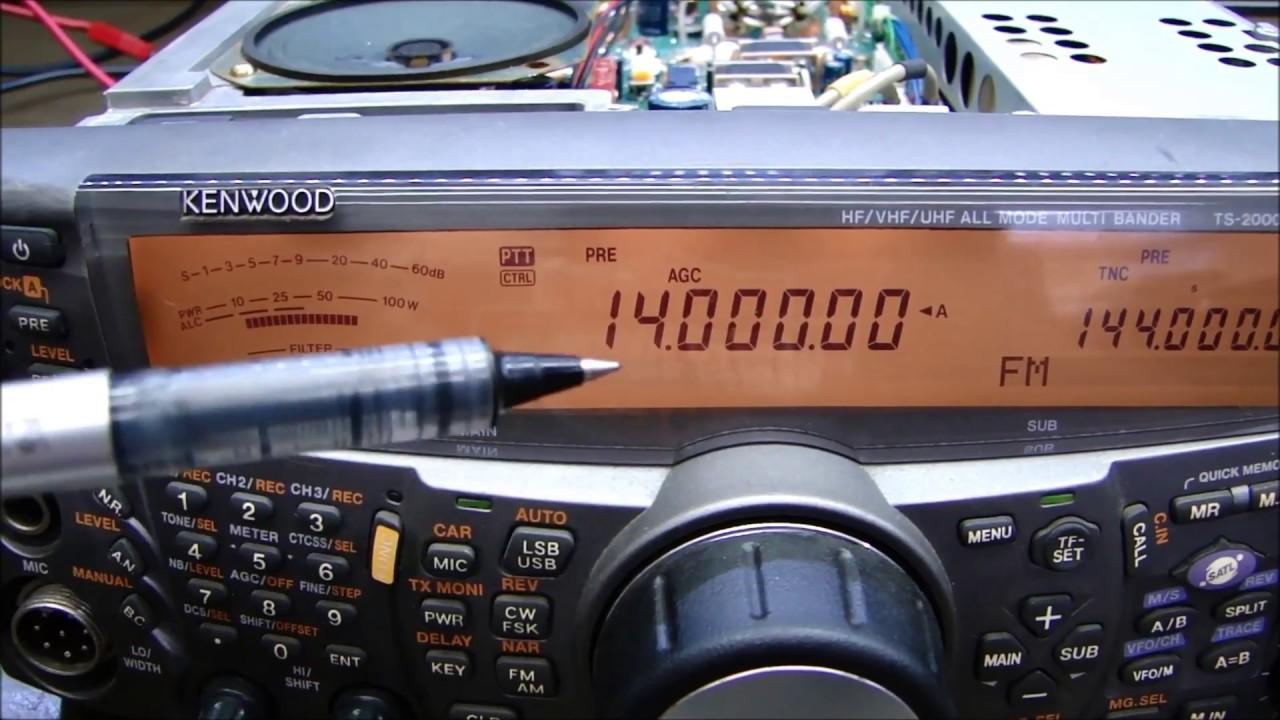 ALPHA TELECOM: KENWOOD TS-2000 REVISÃO COMPLETA E ALINHAMENTO PÓS COMPRA
