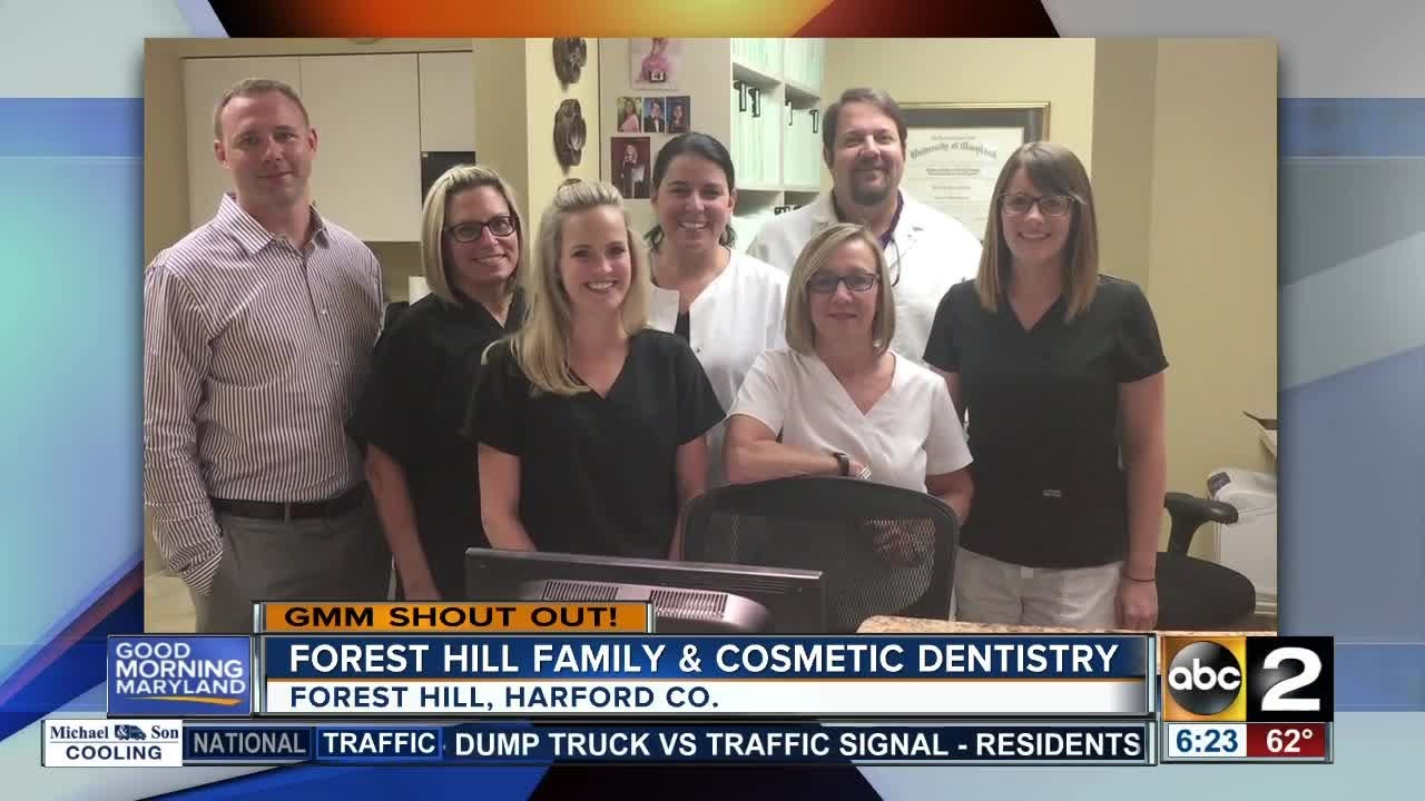 Big smiles in shout out from Forest Hill Family & Cosmetic Dentistry