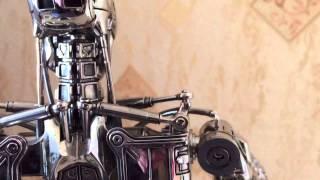 Terminator Endoskeleton 1/4 Hot Toys правильная версия